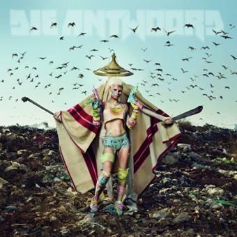 """Die Antwoord, """"Mount Ninji And Da Nice Time Kid"""" – okładka płyty (źródło: materiały prasowe wydawcy)"""