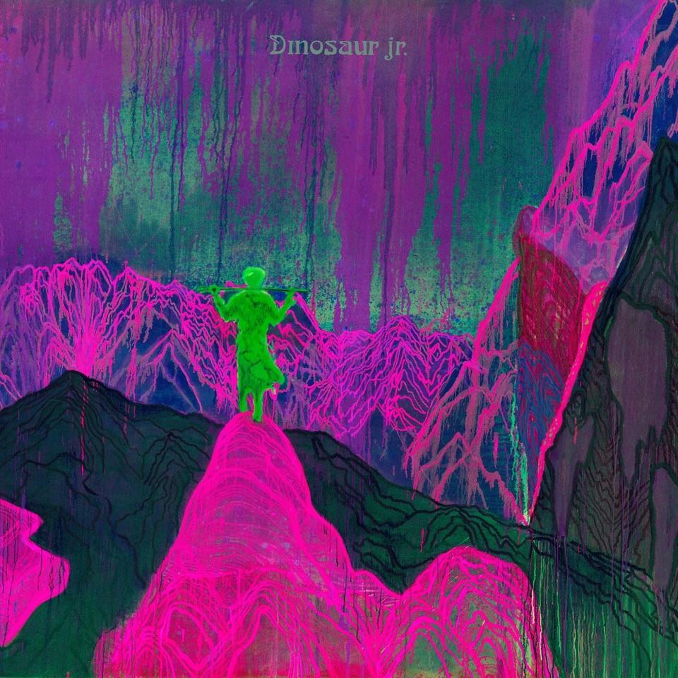 """Dinosaur Jr., """"Give A Glimpse of What Yer Not"""" – okładka płyty (źródło: materiały prasowe wydawcy)"""