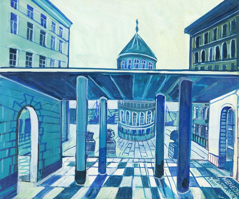 """Edward Dwurnik """"Idealne miasto Wenecja"""" (źródło: materiały prasowe organizatora)"""