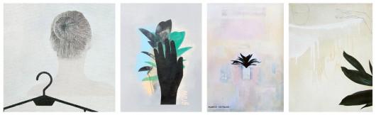 """Ziemowit Kmieć, wystawa """"Black G Loves"""" w Galerii Zderzak w Krakowie (źródło: materiały prasowe organizatora)"""