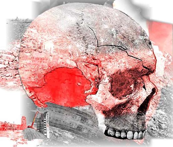 """Hanna Haska """"Zmartwychwstałe miasto rodzi ludzi nieśmiertelnych"""" (źródło: materiały prasowe organizatora)"""