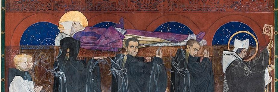 """Jan Henryk Rosen, """"Katedra Ormiańska we Lwowie"""", fragment (źródło: materiały prasowe organizatora)"""