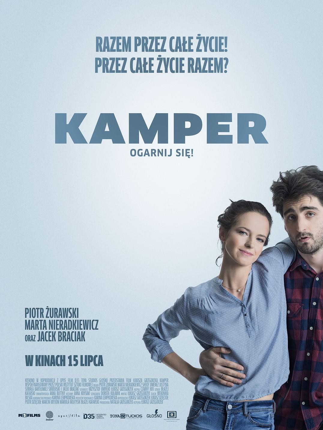 """""""Kamper"""" – plakat (źródło: materiały prasowe dystrybutora)"""