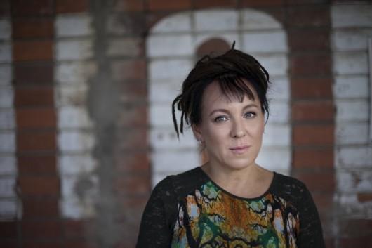 Olga Tokarczuk (fot.: K. Dubiel, źródło: mat. pras. organizatora)
