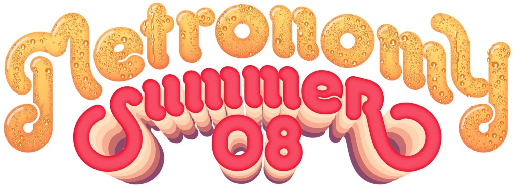 """Metronomy, """"Summer 08"""" – okładka płyty (źródło: materiały prasowe wydawcy)"""