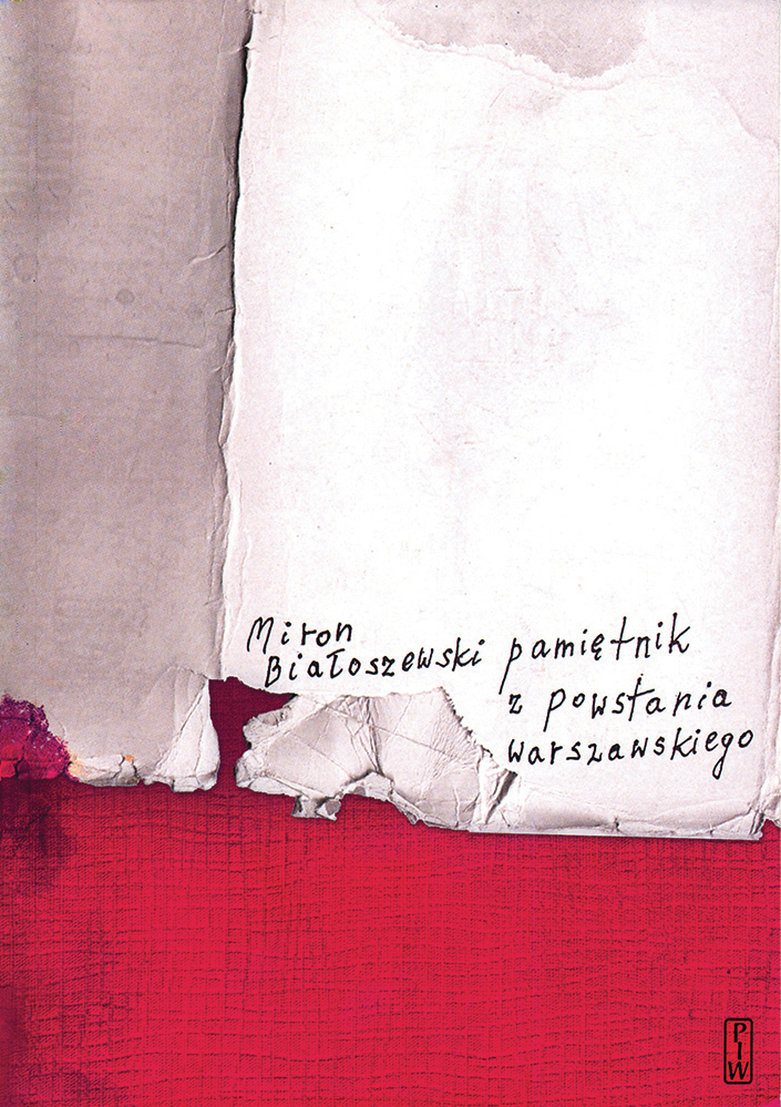 """Miron Białoszewski, """"Pamiętnik z powstania warszawskiego"""", okładka książki (źródło: materiały prasowe wydawcy)"""