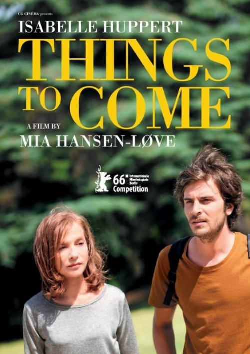 """Plakat filmu """"Co przynosi przyszłość"""", reż. Mia Hansen-Løve, (źródło: materiały prasowe dystrybutora)"""