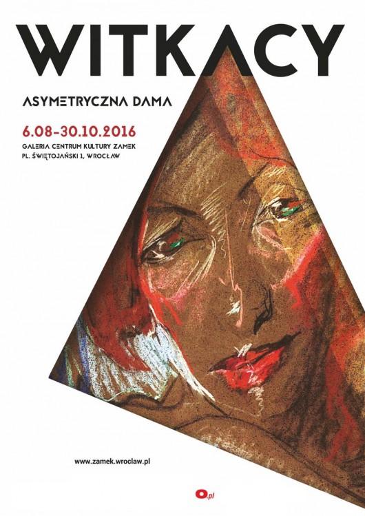 """Stanisław Ignacy Witkiewicz, """"Asymetryczna Dama"""" (źródło: materiały prasowe organizatora)"""