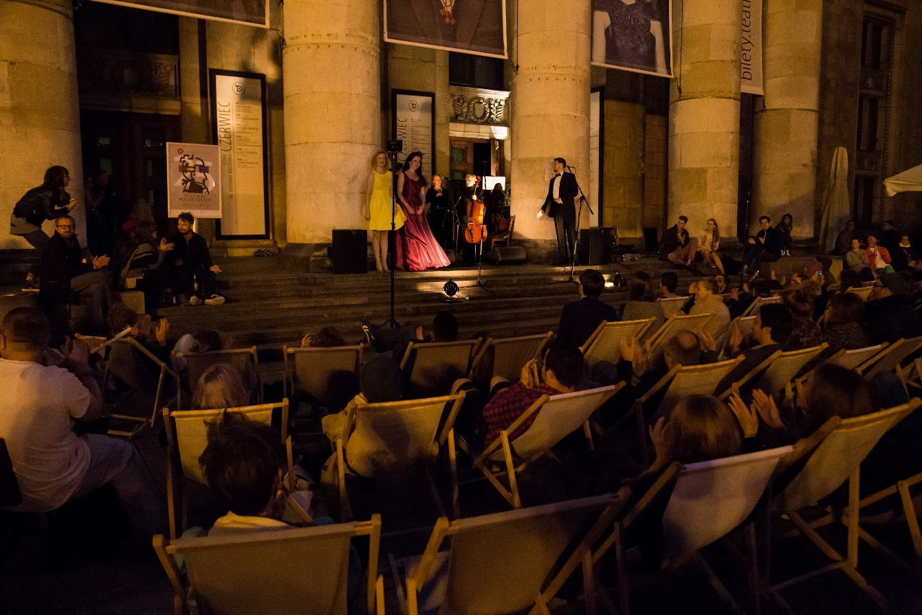 Projekt Mozart na Placu Defilad (źródło: materiały prasowe organizatora)