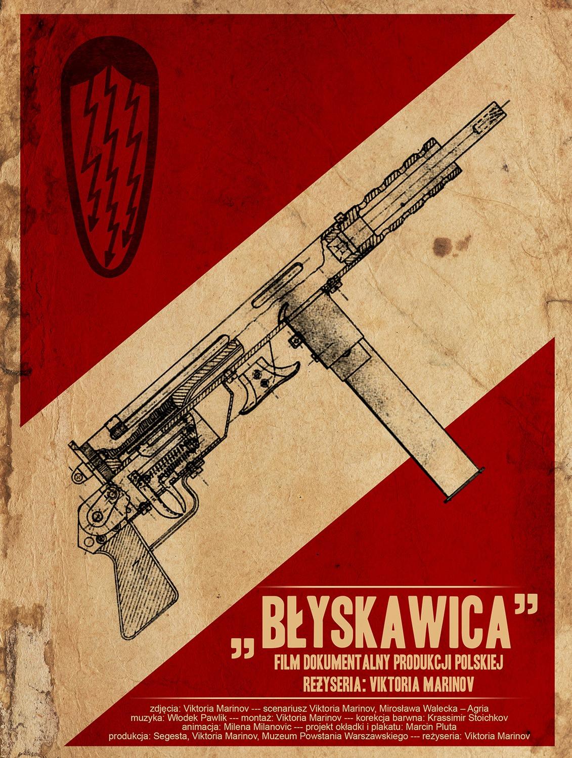 """Viktoria Marinov, """"Błyskawica"""" – plakat (źródło: materiały prasowe organizatora)"""