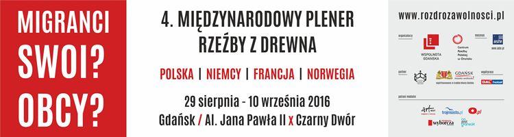4. Międzynarodowy Plener Rzeźby z Drewna (źródło: mat. pras. organizatora)