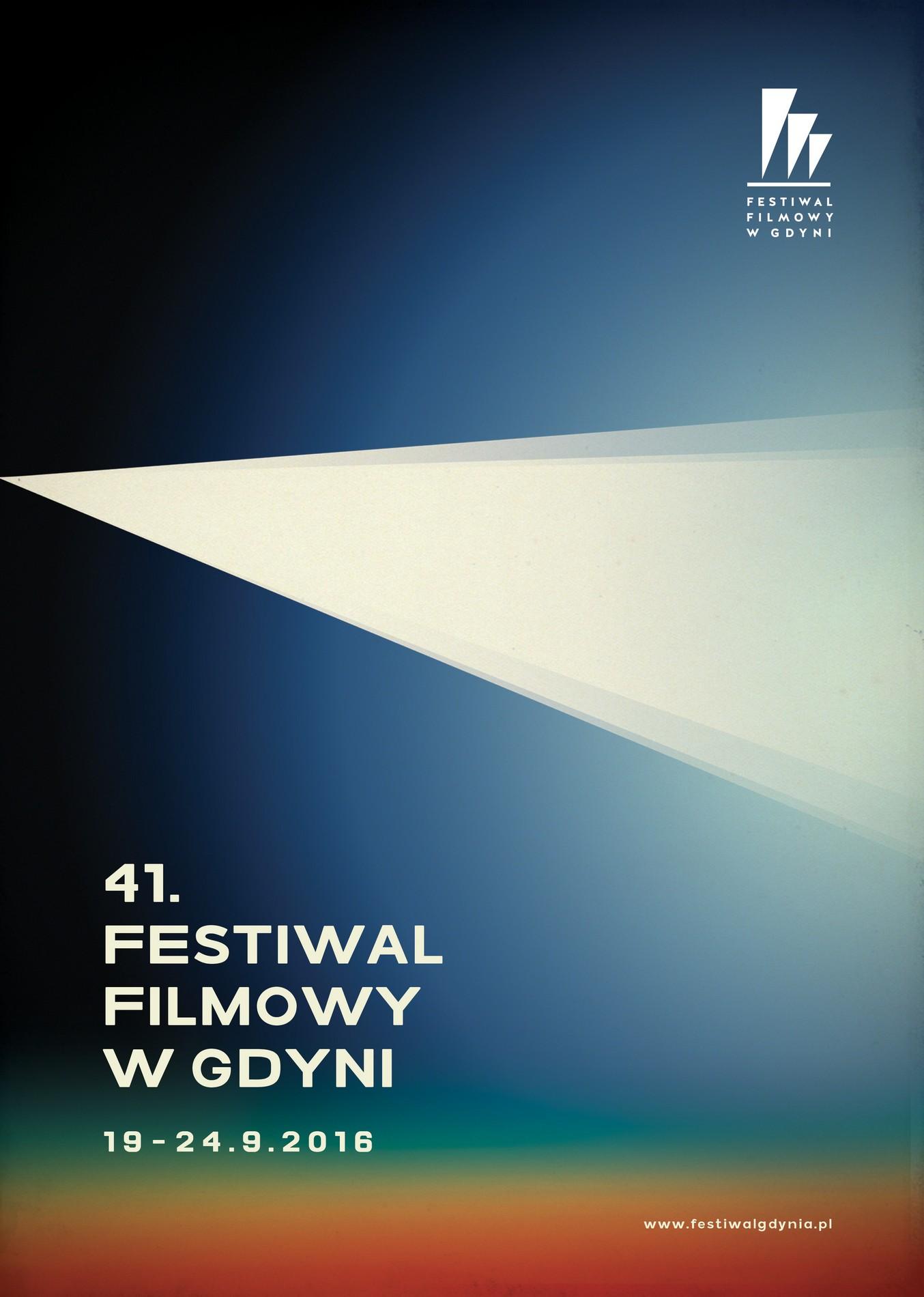 """""""41. Festiwal Filmowy w Gdyni"""" – plakat (źródło: materiały prasowe organizatora)"""