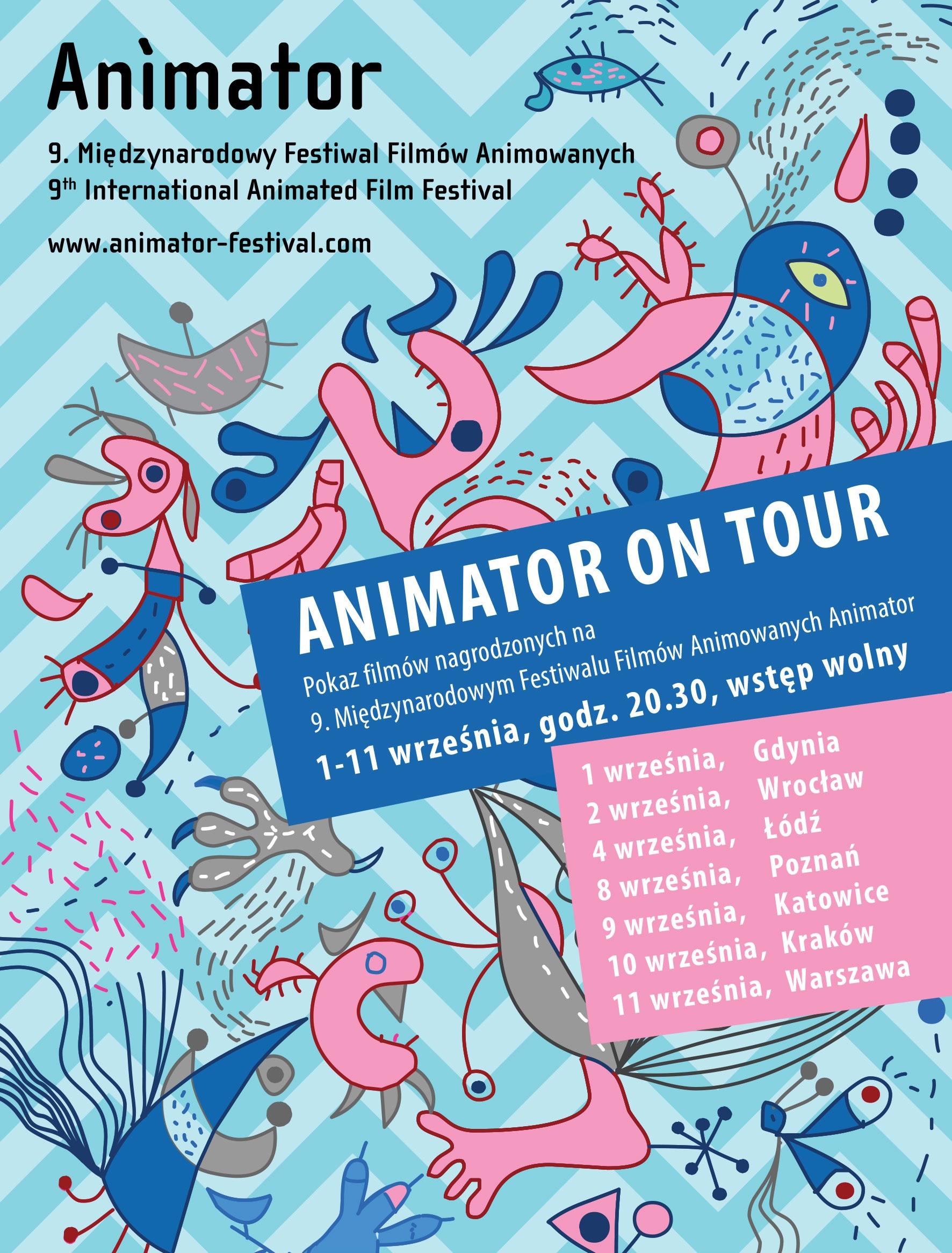 """Animator on Tour"" (źródło: materiały prasowe organizatora)"