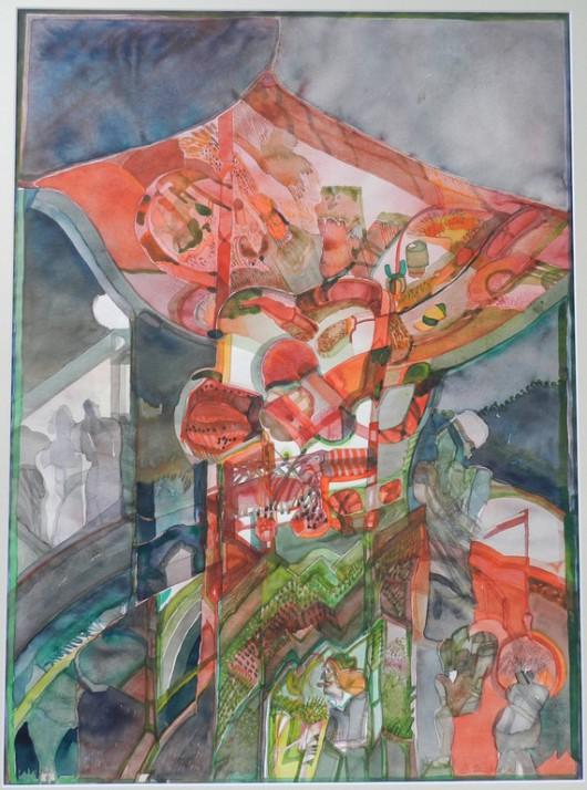 """Barbara Szubińska """"V Zamojskie Biennale Sztuki"""" (źródło: materiały prasowe organizatora)"""
