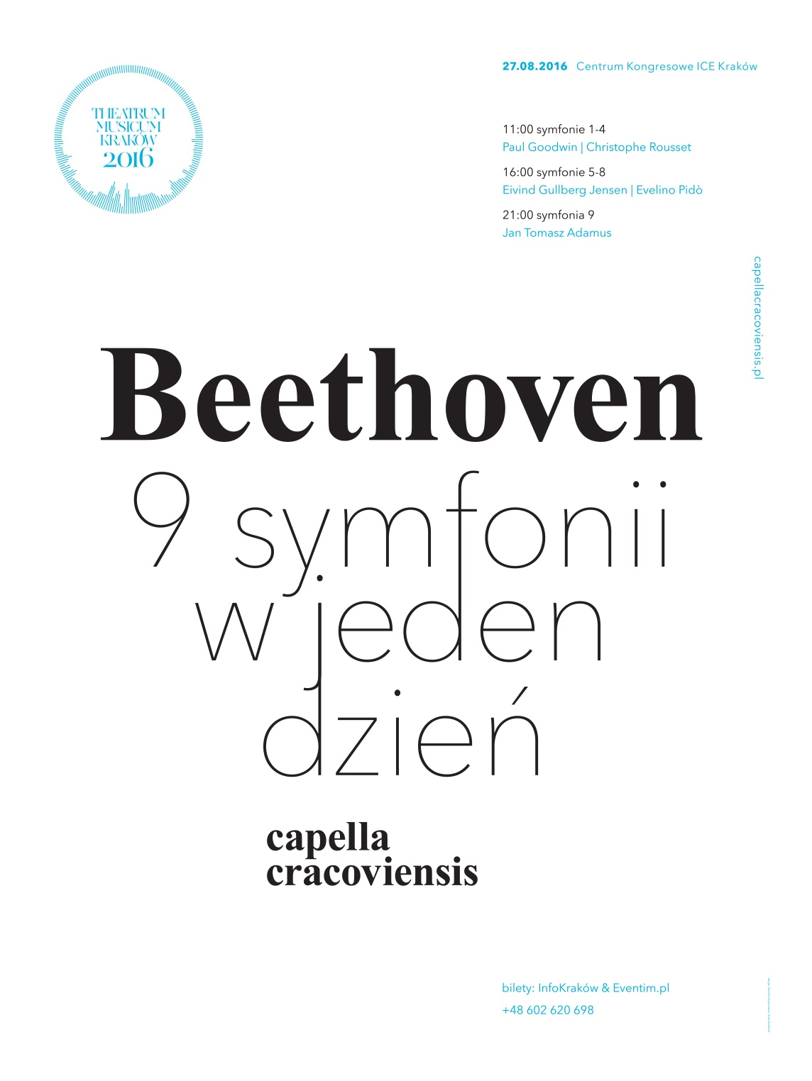"""Beethoven extreme"" – plakat (źródło: materiały prasowe organizatora)"