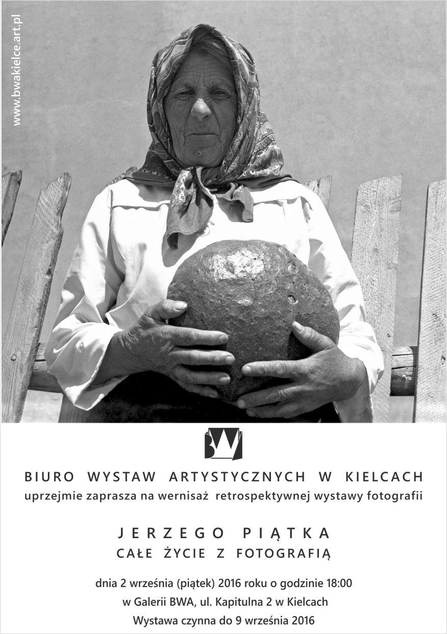 """Jerzy Piątek, """"Całe życie z fotografią"""" (źródło: materiały prasowe organizatora)"""