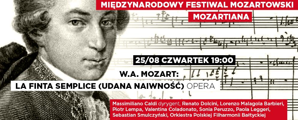 """""""Międzynarodowy Festiwal Mozartowski Mozartiana"""" (źródło: materiały prasowe organizatora)"""