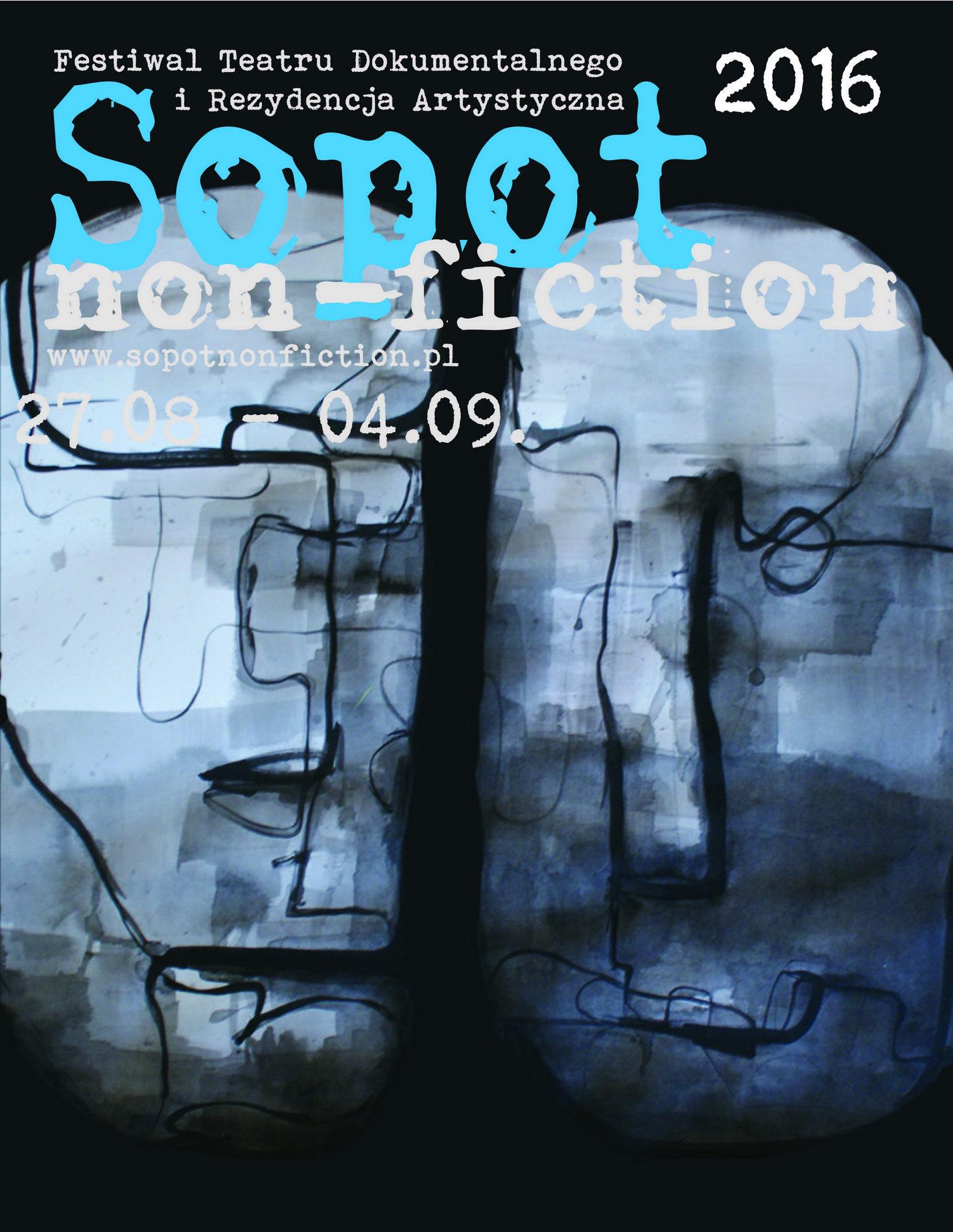 """Sopot Non-Fiction"" – plakat (źródło: materiały prasowe organizatora)"