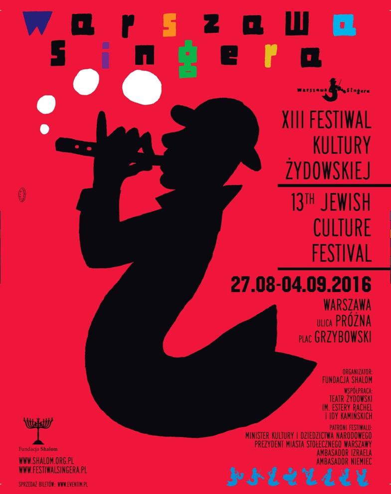 Festiwal Kultury Żydowskiej Warszawa Singera (źródło: mat. pras. organizatora)
