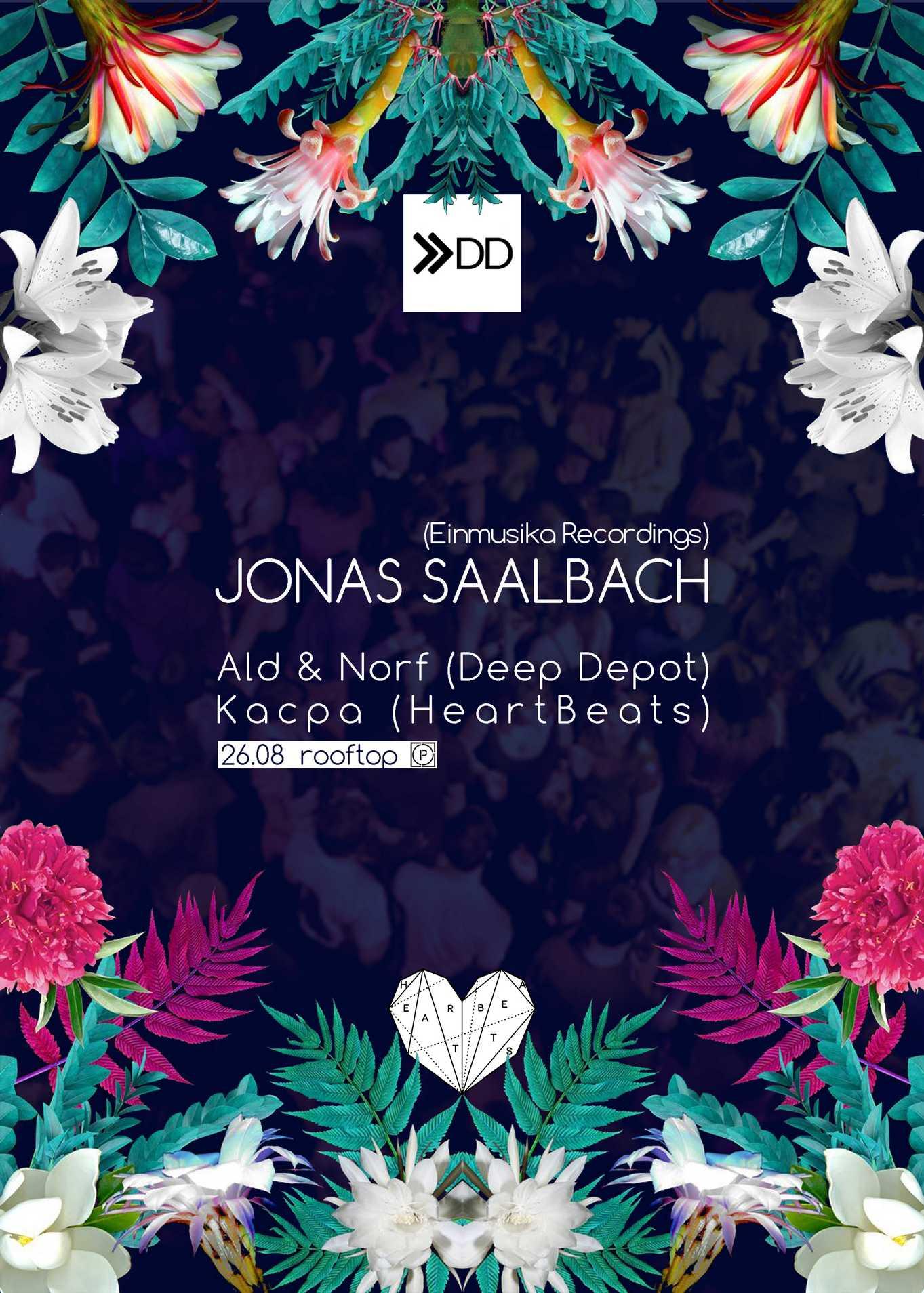 Jonas Saalbach – plakat (źródło: materiały prasowe organizatora)