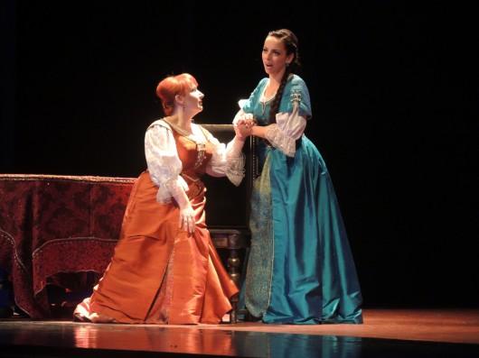 Katarzyna Oleś-Blacha i Monika Korybalska, fot. Archiwum Opery Krakowskiej (źródło: materiały prasowe organizatora)