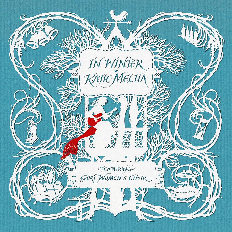 """Katie Melua, """"In Winter"""" – okładka płyty (źródło: materiały prasowe wydawcy)"""