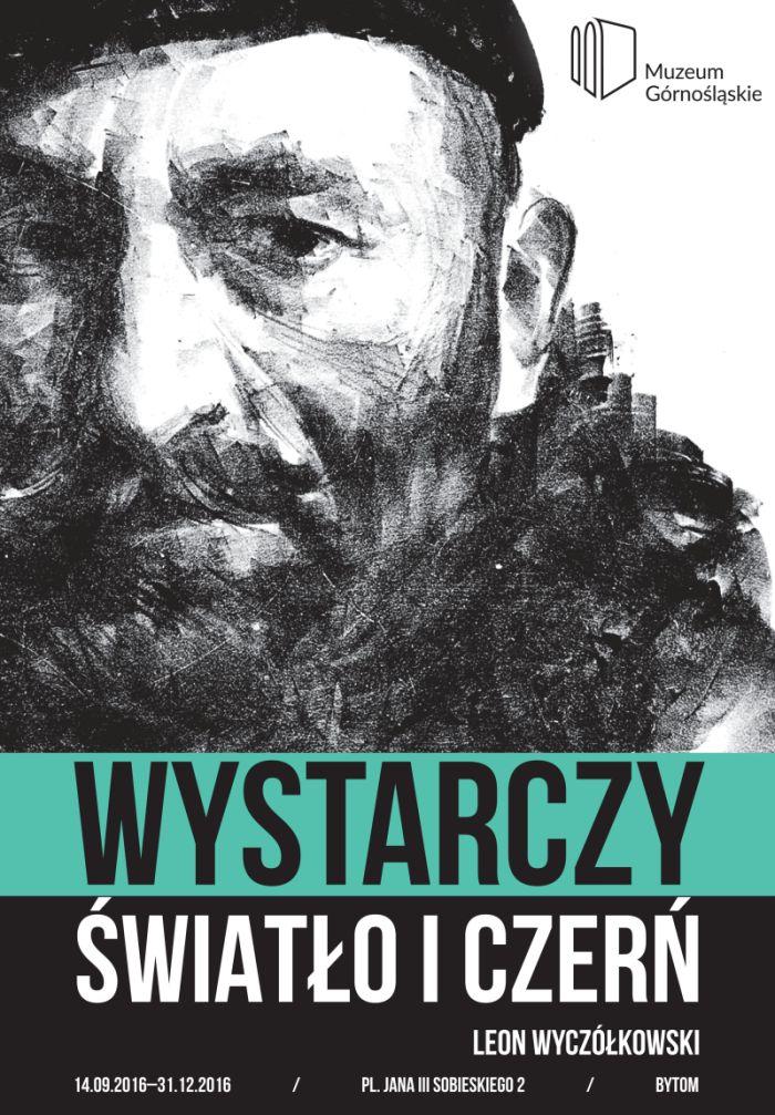 """""""Wystarczy światło i czerń"""", plakat wystawy (źródło: mat. pras. organizatora)"""