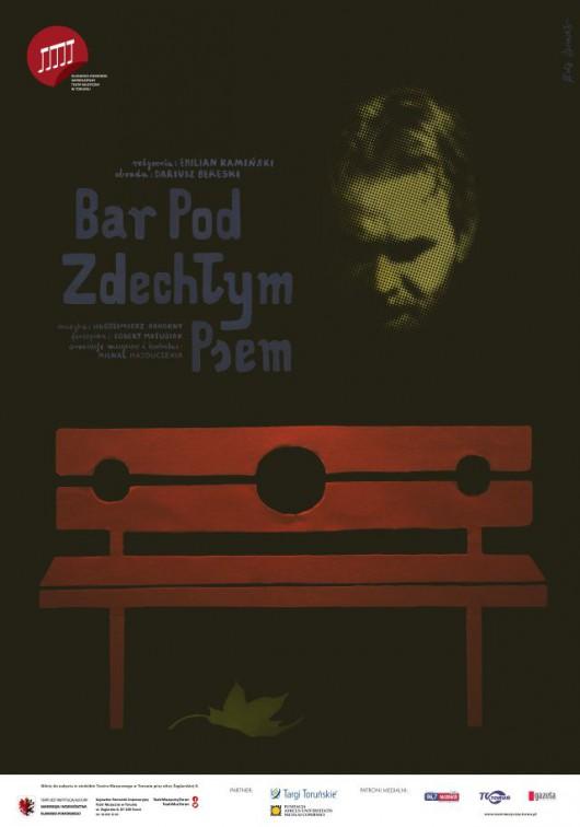 """Bar pod zdechłym psem"", plakat (źródło: mat. pras. organizatora)"