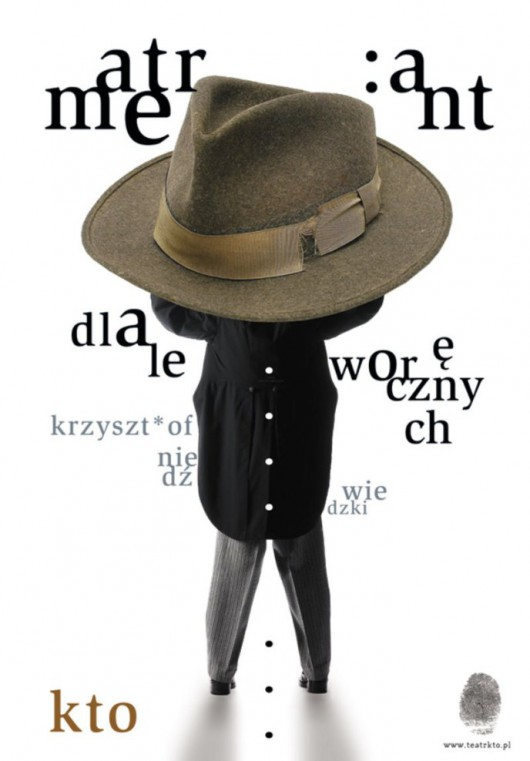 """Atrament dla leworęcznych"", plakat (źródło: mat. pras. organizatora)"