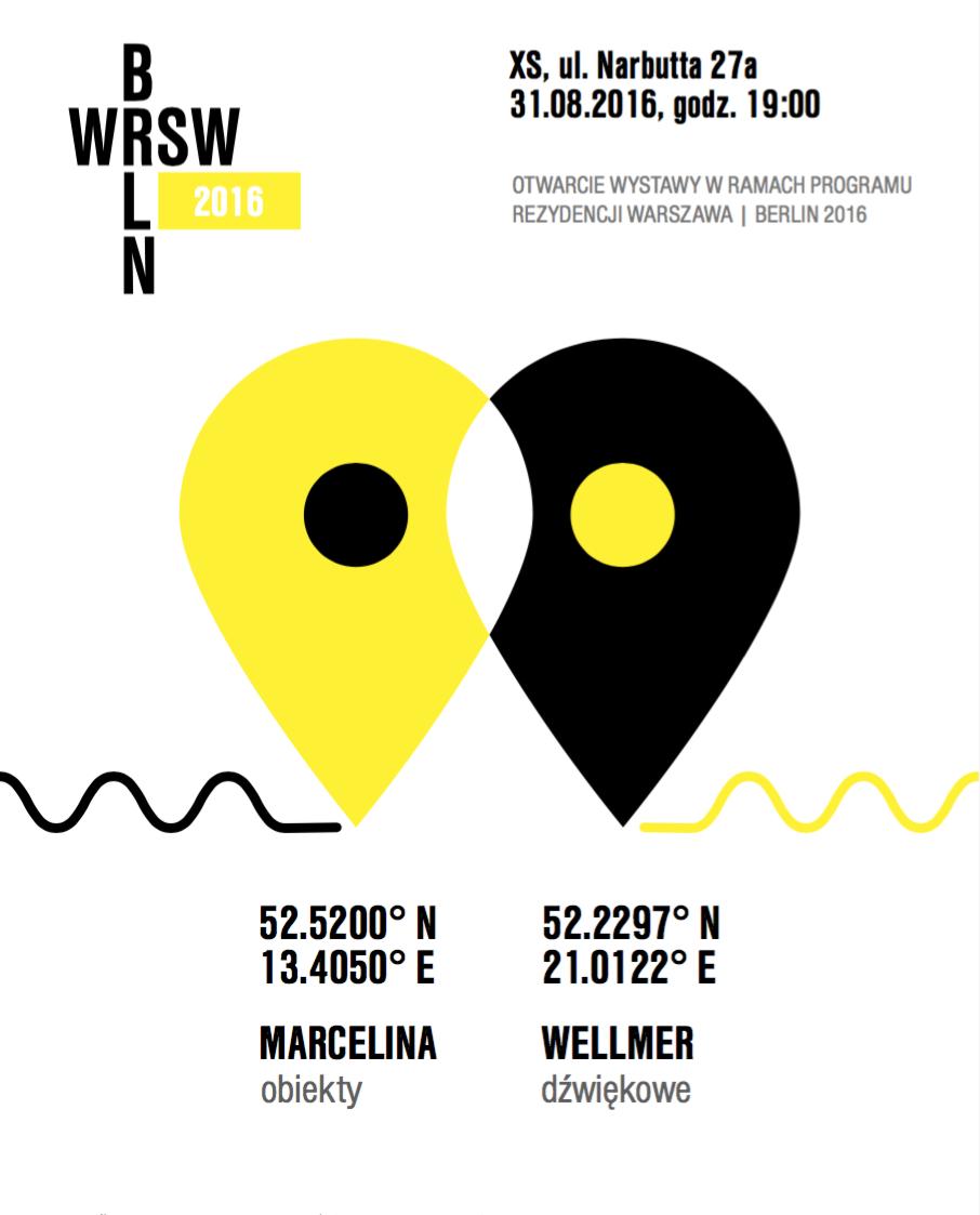 "Marcelina Wellmer, ""52.5200° N, 13.4050° E 52.2297° N, 21.0122° E"" (źródło: materiały prasowe organizatora)"