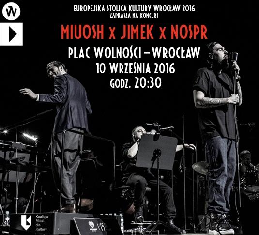 Miuosh x Jimek x NOSPR (źródło: materiały prasowe organizatora)