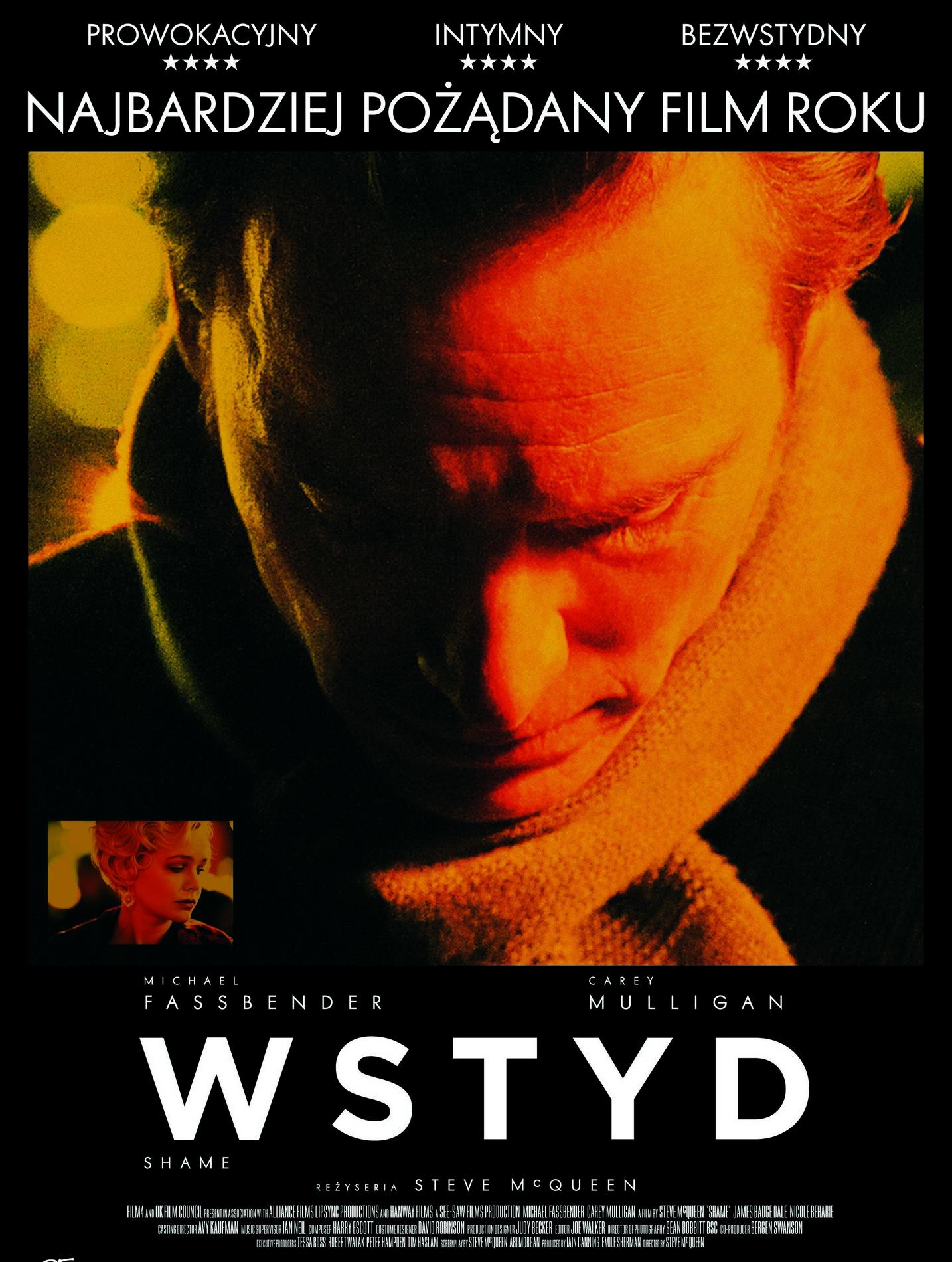 """""""Wstyd"""" – plakat (źródło: materiały prasowe organizatora)"""