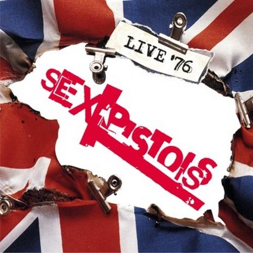"""Sex Pistols, """"Live '76"""" – okładka płyty (źródło: materiały prasowe wydawcy)"""