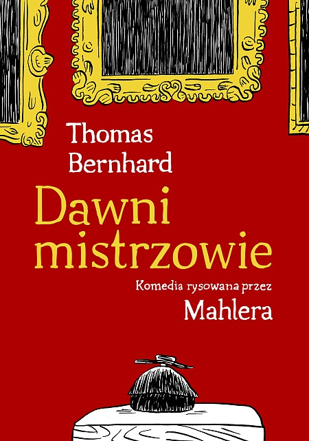 """""""Dawni mistrzowie"""" w wersji komiksowej (źródło: mat. pras. wydawcy)"""