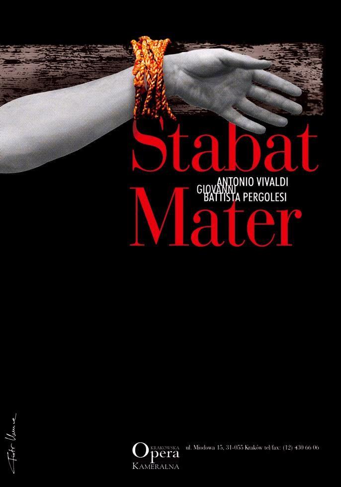"""""""Stabat Mater"""" – plakat (źródło: materiały prasowe organizatora)"""