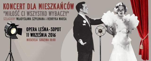 """""""Koncert dla mieszkańców"""" – plakat (źródło: materiały prasowe organizatora)"""