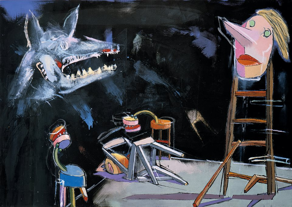 """Andrzej Dudziński, """"Oko w oko z bestią"""" (źródło: materiały prasowe organizatora)"""