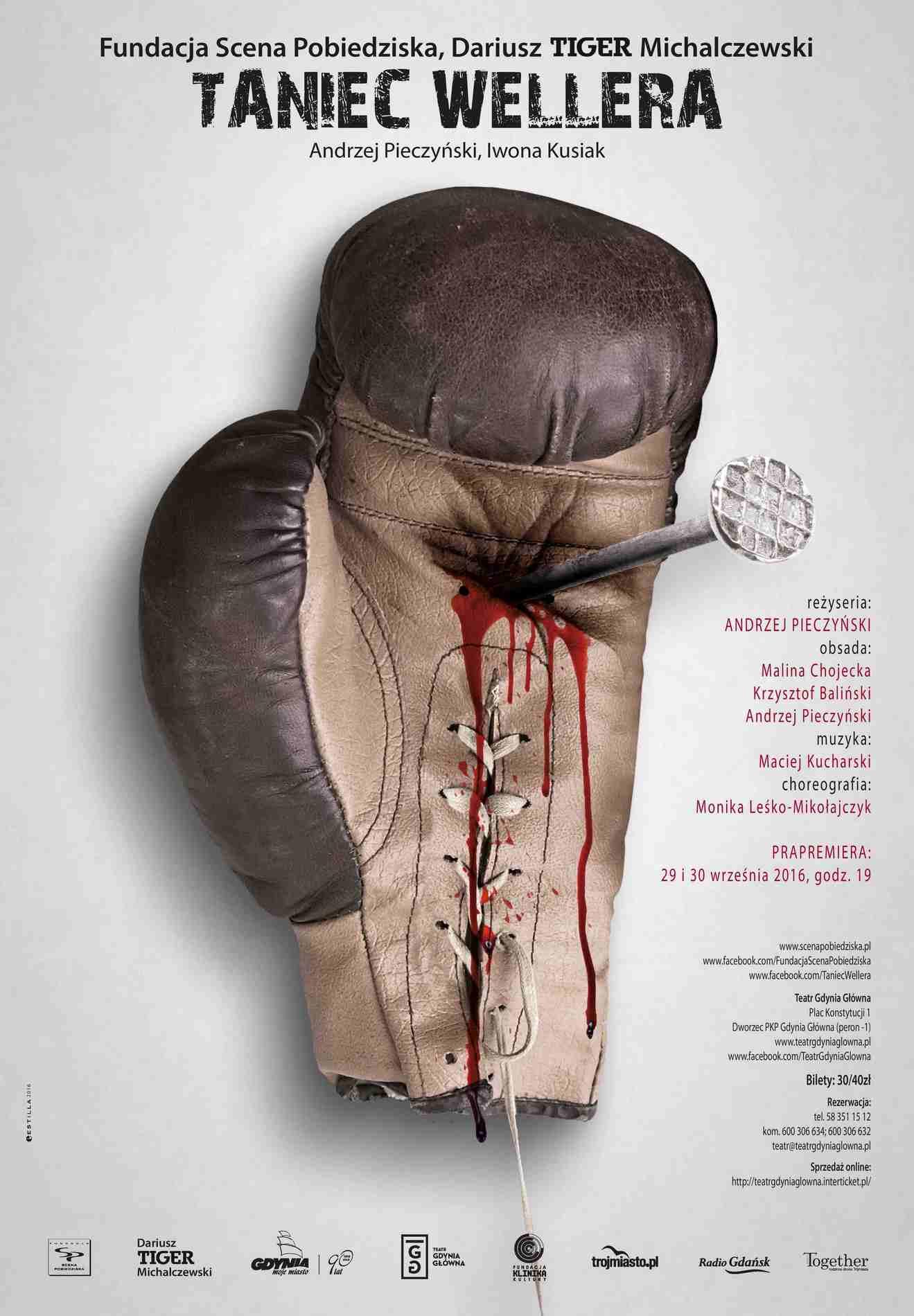 """Andrzej Pieczyński, """"Taniec Wellera"""" – plakat (źródło: materiały prasowe organizatora)"""