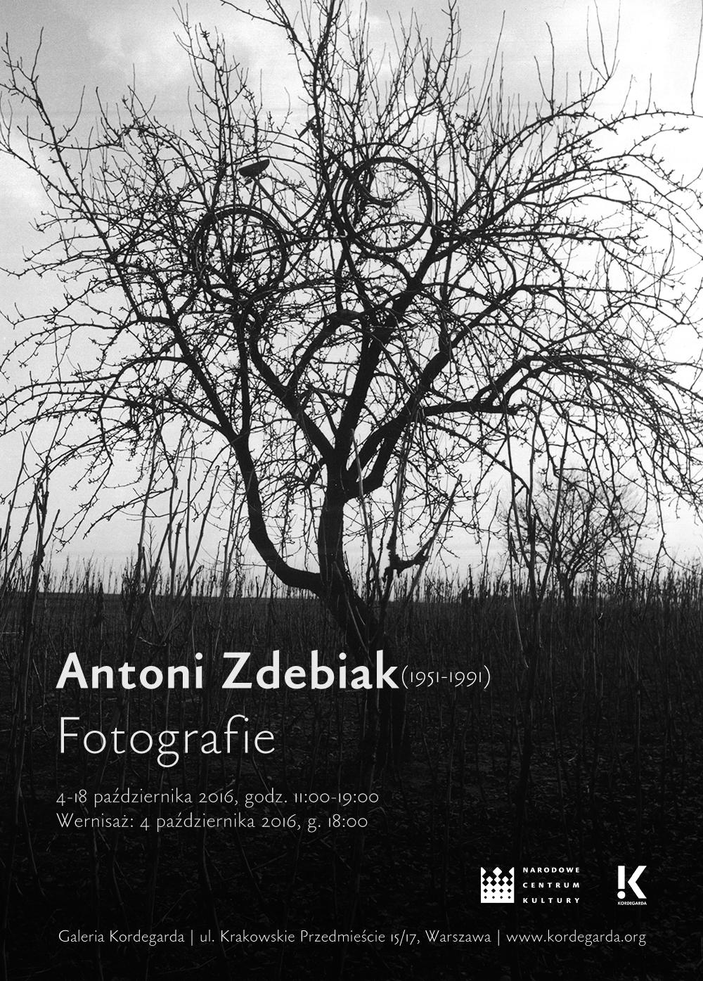 """""""Wystawa Antoni Zdebiak (1951–1991) Fotografie"""" (źródło: materiały prasowe organizatora)"""