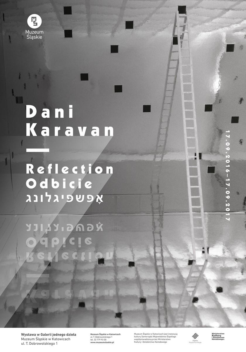 """Dani Karavan, """"Reflection / Odbicie"""" (źródło: materiały prasowe organizatora)"""