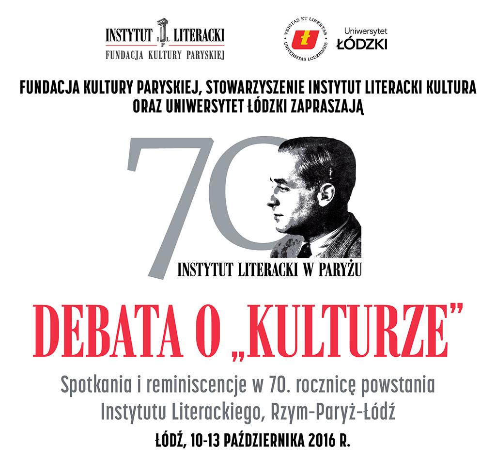 """Debata o """"Kulturze"""" (źródło: mat. pras. organizatora)"""
