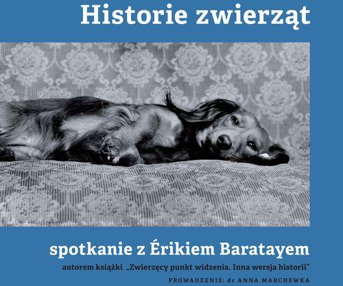 Spotkanie z profesorem Érikiem Baratayem – plakat (źródło: materiały prasowe organizatora)
