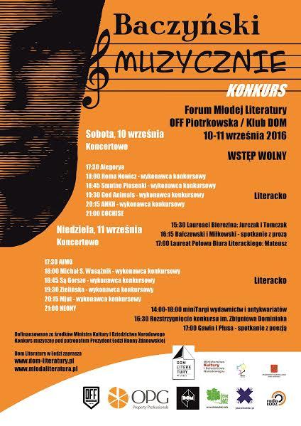 Forum Młodej Literatury (źródło: mat. pras. organizatora)