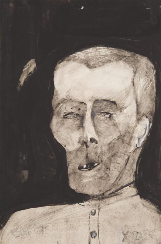"""Krzysztof Mańczyński, """"Z cyklu A. Sołżenicyn, Dzień Iwana Denisowicza"""", 1967 (źródło: materiały prasowe organizatora)"""
