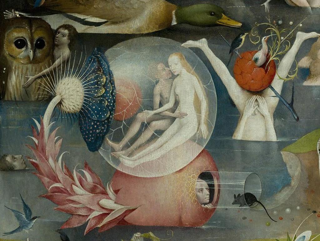 """Hieronim Bosch, """"Ogród rozkoszy ziemskich"""" (źródło: materiały prasowe organizatora)"""