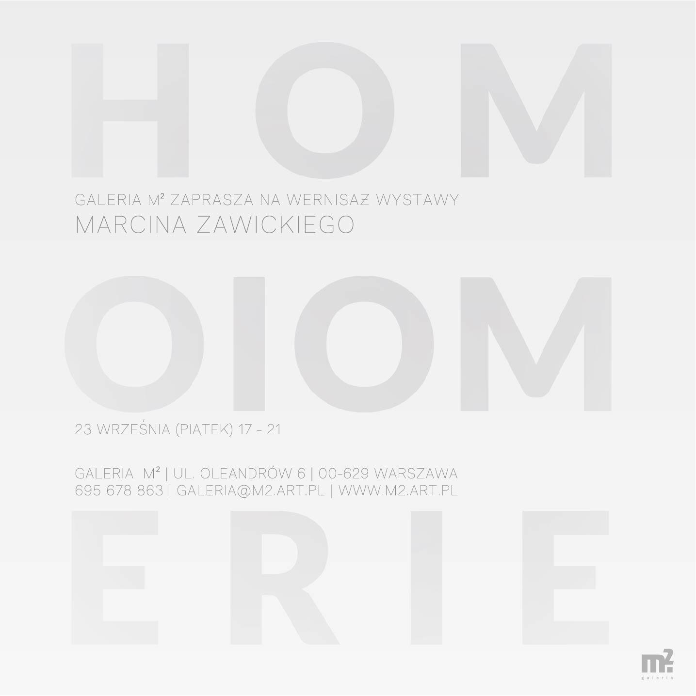 """Marcin Zawicki, """"Homoiomerie"""" (źródło: materiały prasowe organizatora)"""
