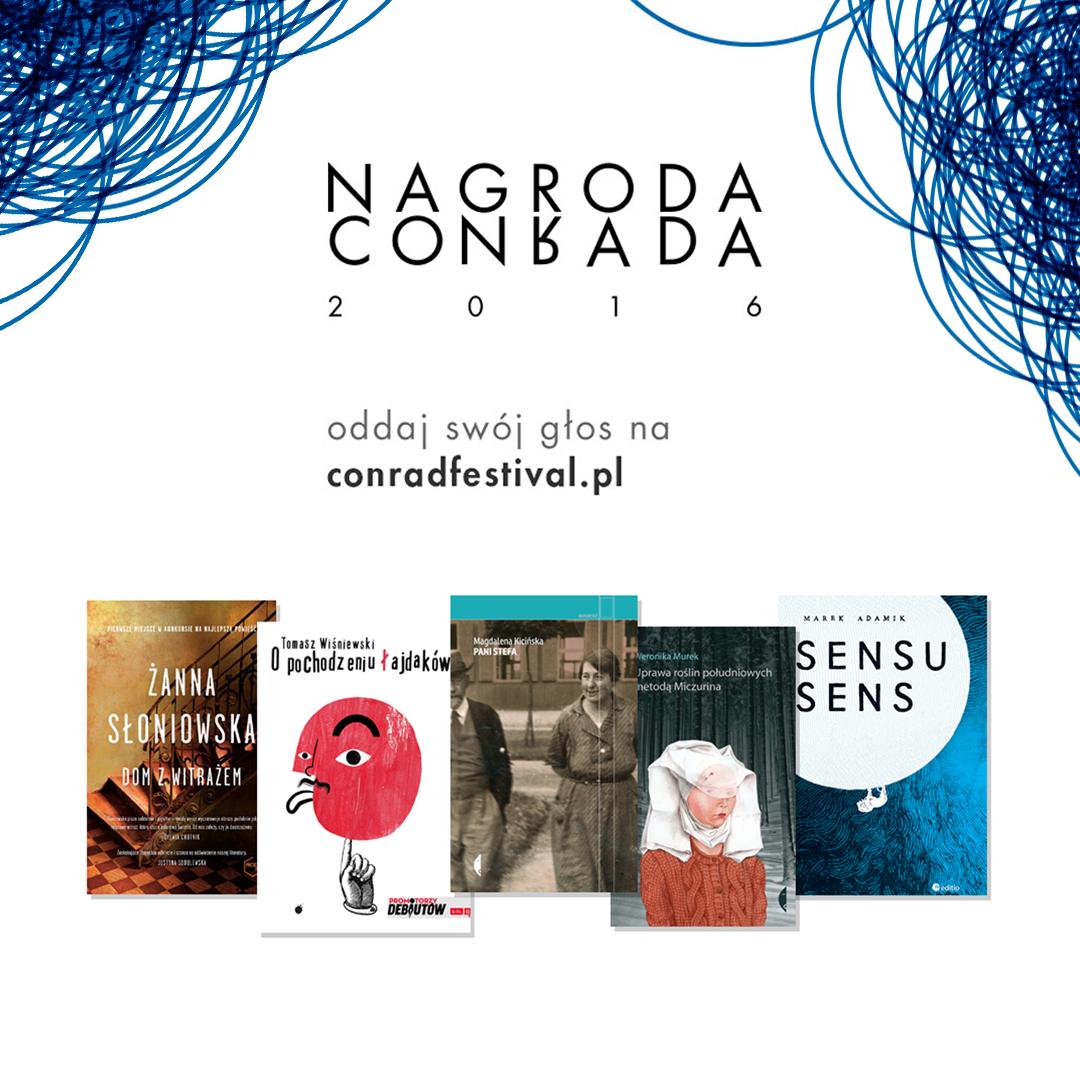 Nagroda Conrada 2016 (źródło: mat. pras. organizatora)