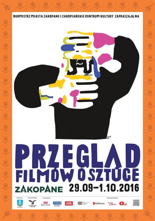 Przegląd Filmów o Sztuce w Zakopanem – plakat (źródło: materiały prasowe organizatora)