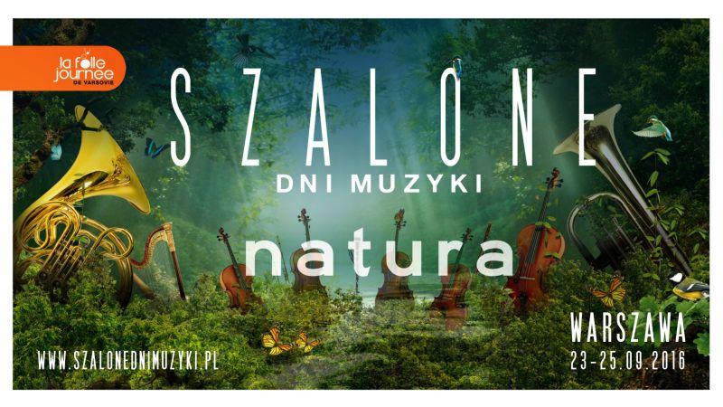 """""""Szalone Dni Muzyki 2016"""" – plakat (źródło: materiały prasowe organizatora)"""