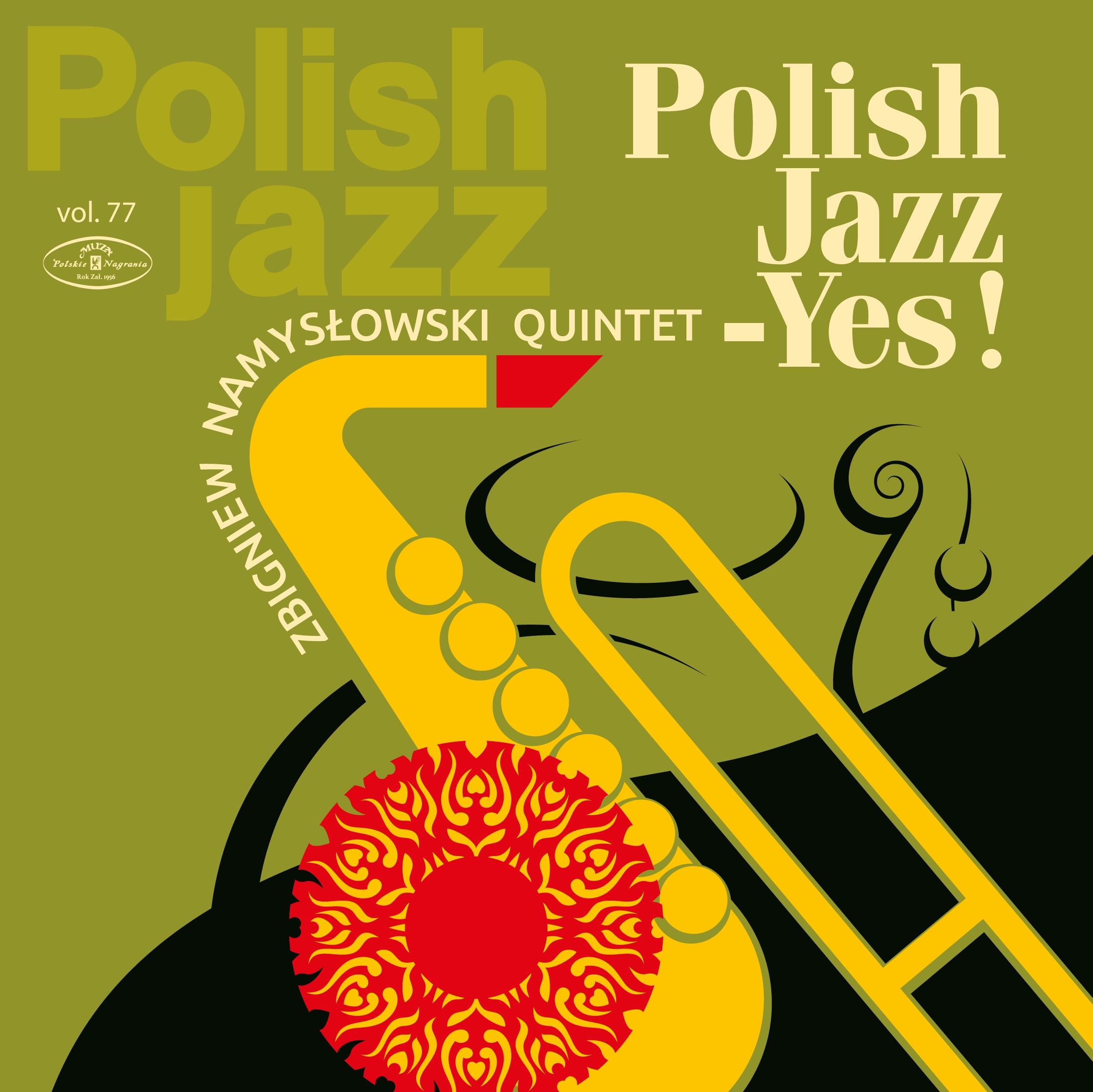 """Zbigniew Namysłowski, """"Quintet Polish Jazz – YES!"""" – okładka płyty (źródło: materiały prasowe wydawcy)"""